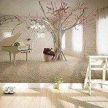 Kuamai Moderne Kunst Klavier Ast Fototapete