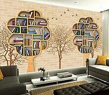 Kuamai Neue Große Bücherregal Wandbild