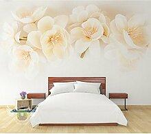 Kuamai Pfirsichblüte Modern Flower Tapete Für