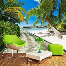 Kuamai Strand Meer Ansicht Fotografie Hintergrund