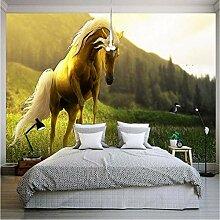 Kuamai Tapete Für Wände 3D Spectacular Pferd