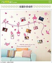 kuamai Vogel Bilderrahmen Wand Aufkleber Für