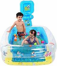 KUANDARM Tragbar Aufblasbarer Pool Für Alter