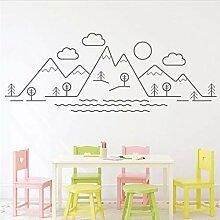 KUANGJING Kindergarten Dekoration bergblick