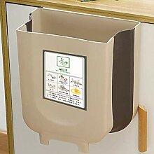 KUANSHENG Mülleimer Küche, Tragbarer Haushalts-