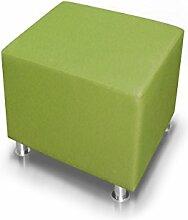 KUBO Sitzwürfel Kunstleder 45 cm, grün