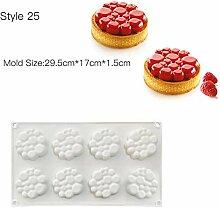 Kuchen Dekorieren Form 3D Silikon Formen Backform