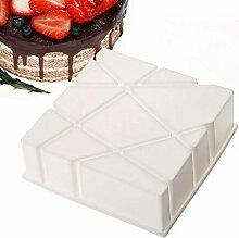 Kuchen mold-nacola Silikon 3D geometrische