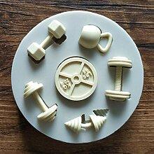 Kuchen Werkzeuge Sport Fitness Workout Übung