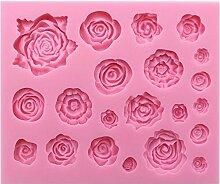 Kuchendekorationsformen, Rosen, Kuchenform,