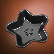 Kuchenform   Fünfzackiger Stern Backform,