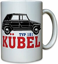 Kübel Typ 181 Kübelwagen Bundeswehr Bund Bw Fahrzeug Oldtimer Auto Kfz - Kaffee Becher Tasse #12387