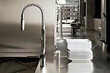 Küche Armatur Gessi Oxygene Einhebelmischer mit Rute drehbar 00909