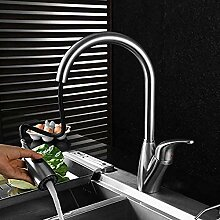 Küche Bad 304 Edelstahl Waschbecken Wasserhahn