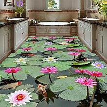 Küche Bad PVC Selbstklebende Wasserdichte Boden