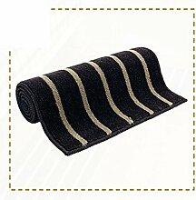 Küche Bar Matte/Fußmatte/Eingang Diele Bad WC wasserabsorbierenden Fußmatte an der Tür-B 45x120cm(18x47inch)