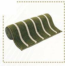 Küche Bar Matte/Fußmatte/Eingang Diele Bad WC wasserabsorbierenden Fußmatte an der Tür-C 65x180cm(26x71inch)