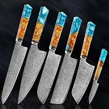 Küche Damaskus Messer Set Professionelle