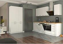 Küche Eko White 240 + 100cm weiß Küchenzeile