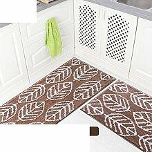 Küche-fußmatten/Bar,Öl-absorbierende,Von Mats/Bad-antirutsch-matten/Maschine Waschbare Matten-F 48x98cm(19x39inch)