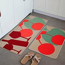 Küche-Fußmatten/Fußmatte/Küche Bar Matte/Matten in der Halle/Tür Matte saugfähige Matte-B 50x120cm(20x47inch)
