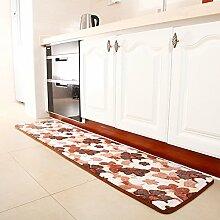 Küche-fußmatten/Lange Matte/Badezimmer Tür Matte/Wasseraufnahme Und Anti-schleudern Mat/Bedside Matten/Küche Fußmatten/Erker-mat-B 40x160cm(16x63inch)