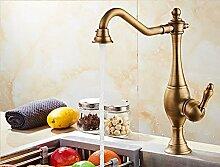 Küche heiß und kalt Waschbecken Wasserhahn