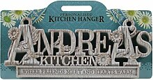 Küche Kleiderbügel Küche Plaque-Andrea