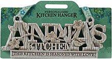 Küche Kleiderbügel Küche Plaque-Anna