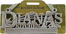 Küche Kleiderbügel Küche Plaque-Diana