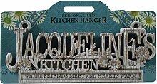 Küche Kleiderbügel Küche Plaque-Jacqueline