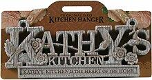 Küche Kleiderbügel Küche Plaque-Kathy