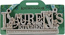 Küche Kleiderbügel Küche Plaque-Lauren