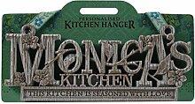 Küche Kleiderbügel Küche Plaque-Monica