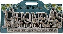 Küche Kleiderbügel Küche Plaque-Rhonda
