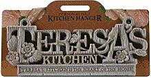 Küche Kleiderbügel Küche Plaque-Teresa