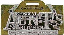 Küche Kleiderbügel Plaque-Aunts Küche