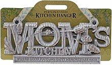 Küche Kleiderbügel Plaque-Moms Küche