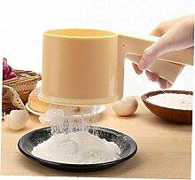 Küche Kunststoff Mehlsieb Sieve Filter Backen