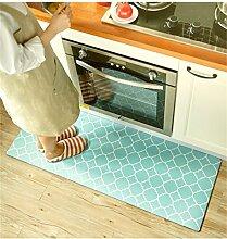 Küche Langer Streifen Teppich Rutschfester wasserdichter ölfester Fußpolster Teppich ( größe : 120*45*0.4cm )