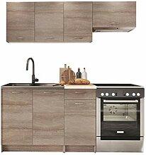 Küche Mela 180/120 cm, Küchenblock/Küchenzeile,