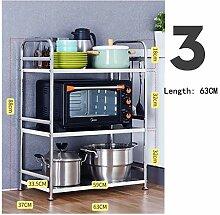 Küche Mikrowelle Backofen Rack Bodenstehend