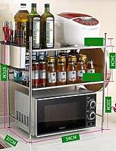 Küche Mikrowelle Rack Ständer Küchenschrank Und