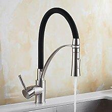 Küche Mischer Waschbecken Wasserhahn Messing
