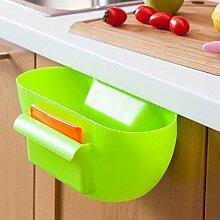 Küche Müll Lagerung Fässer Kunststoff Tisch Mülleimer Mode Creative Home Desktop ( Farbe : Grün )