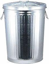Küche Mülleimer Mülleimer aus verzinktem Stahl,