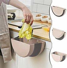Küche Mülleimer Wandmontage Faltbare Abfalleimer