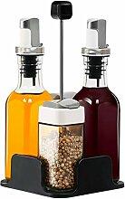 Küche Öl Flasche Gewürz Box Set Kombination