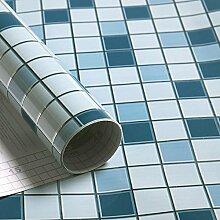 Küche Ölbeständig selbstklebende Aufkleber Folie Fliesen Fliesen wasserdicht Rauch Herd Schrank Glas Aufkleber ist 3 m lang und 0,6 m breit (1,8 M*L), D