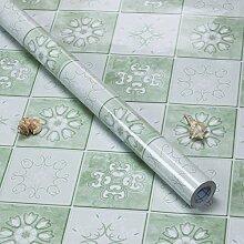 Küche Ölbeständig selbstklebende Aufkleber Folie Fliesen Fliesen wasserdicht Rauch Herd Schrank Glas Aufkleber ist 3 m lang und 0,6 m breit (1,8 M*L), R